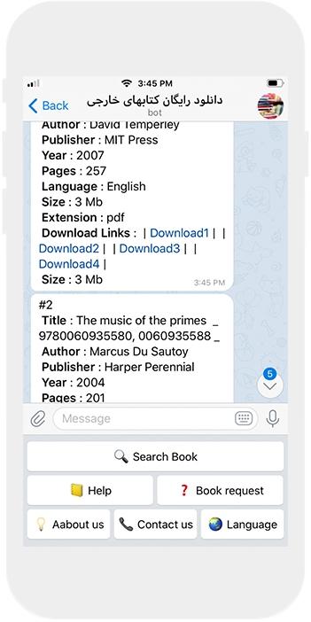 طراحی ربات تلگرام دانلود کتاب